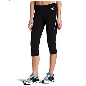 PEARL IZUMI Black Infinity Knicker with Red Panels
